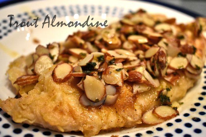 Finished almondine