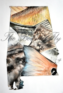 The Bonnie Fly is a proud sponsor of this year's ADSFR. This Inshore print will be awarded to all 1st Place Inshore categories in this years tournament!